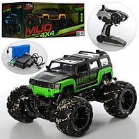 """Джип на радіоуправлінні 4x4 """"Mud Off-Road"""", відкритий верх, гум. колеса 333-MUD12B/13B/14B в кор."""