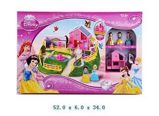 """Будиночок """"Принцеси Діснею"""" 3947-1 з фігурками, в кор. 52*6*34 см"""