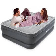 Надувне ліжко Intex 64140 Essential Rest Airbed розмір 152Х203Х51 см
