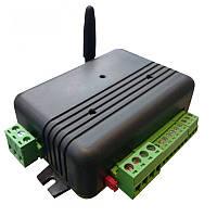 Одноканальная GSM-розетка с сигнализацией. Управляет одним транзитным каналом 0В-220В