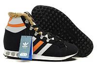 Зимние кроссовки Adidas Jogging Hi S.W. Star Wars Chewbacca 02M c мехом