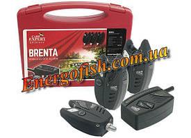 Набор радио сигнализаторов Carp Expert Brenta (4+1) 250м