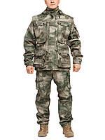"""Демисезонный камуфляжный костюм для охоты и рыбалки Бондинг """"A-Tacs"""""""