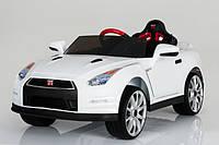 Электромобиль Tilly Nissan GT-R T-797 WHITE 2 х 15 Вт з MP3 121*61*36 см