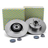 Комплект задних тормозных дисков на Рено Меган 3/ NTN-SNR KF155.110U