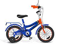 """Велосипед 2-х колісний 18"""" 171835 зі дзвінком, дзеркалом, з ручним гальмом"""