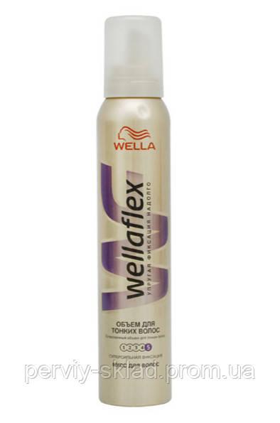 Мусс для волос Wellaflex 200 мл