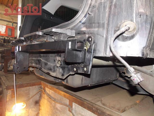 Фото по установке фаркопа наVolkswagen Passat B7