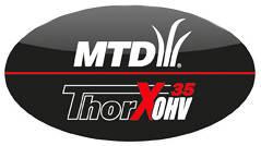 Поршневое кольцо для двигателя MTD ThorX 35 OHV