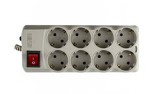 Сетевой фильтр Sven Optima Pro 3,1м 8 розеток, фото 2