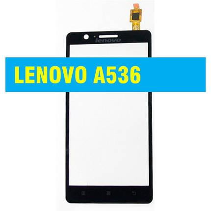Cенсорный экран LENOVO A 536 BLACK, фото 2