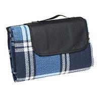 Плед для пикника Шотландец синий