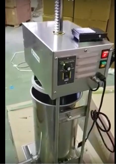 Шприц для колбас електрический LV-15E Rauder