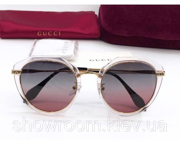 Женские солнцезащитные очки в стиле GUCCI (55933)