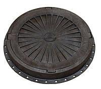 Люк пластмассовый легкий №1 (черный)