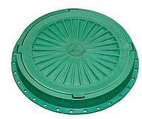 Люк пластиковый легкий №3 (зеленый, терракотовый, коричневый, серый)