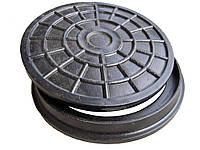 Люк мини пластмассовый канализационный (черный)