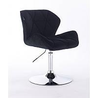 Кресло  HR 111 черный велюр, фото 1