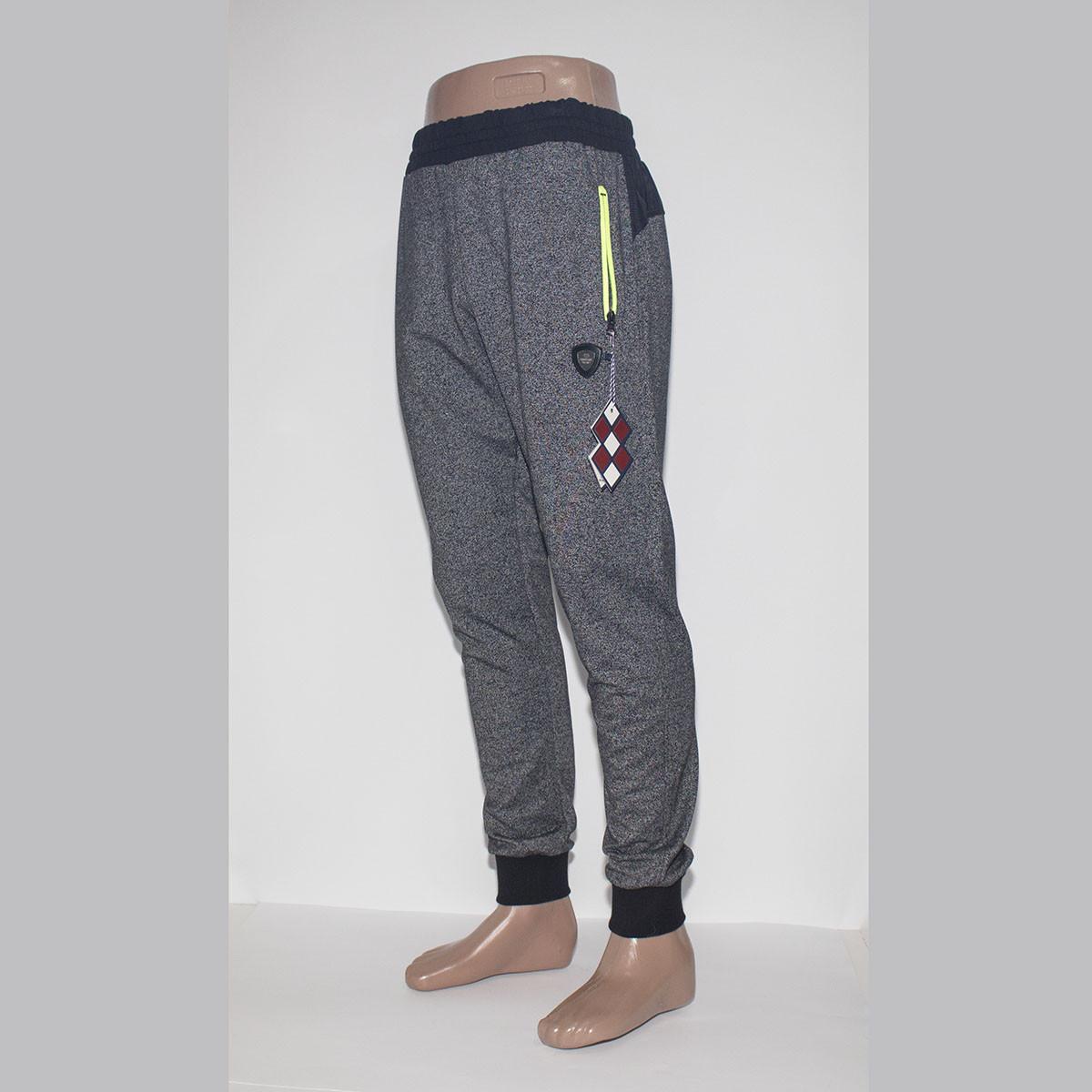 Мужские спортивные штаны под манжет TOMMY LIFE фабрика Турция 84233