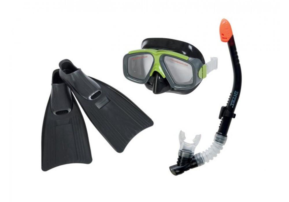 Набор для плавания очки, ласты, трубка Intex 55959