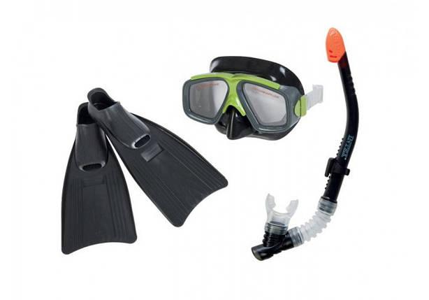 Набор для плавания очки, ласты, трубка Intex 55959, фото 2