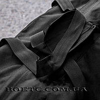 Сумка - баул 80л. (ANTITERROR) Black, фото 3