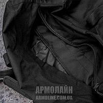 Сумка - баул 80л. (ANTITERROR) Black, фото 6