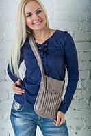 Вязаная сумка — стильный аксессуар для любого сезона