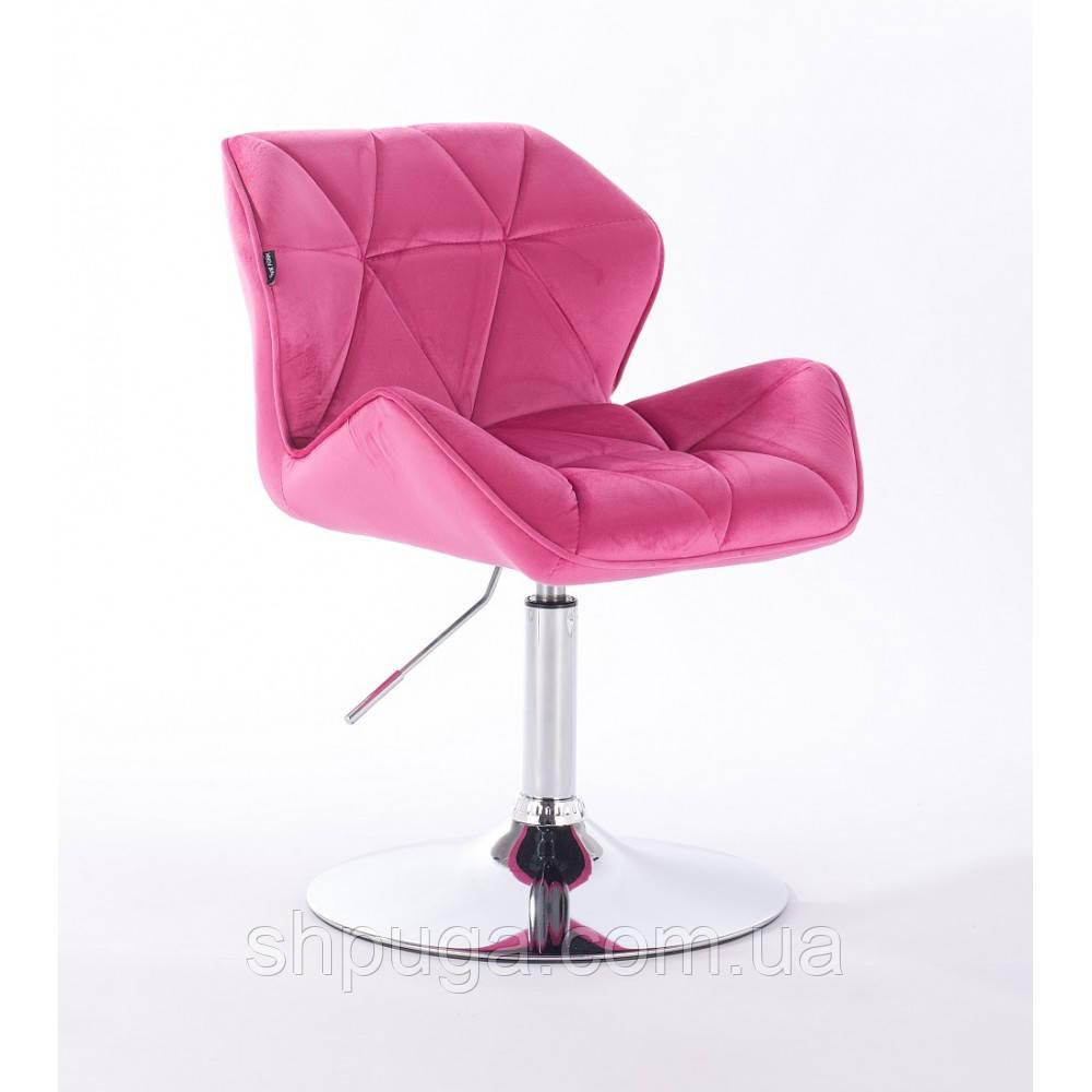 Кресло  HR 111 малиновый велюр