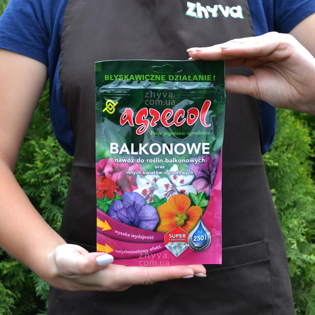 Добриво Agrecol для балконних рослин водорозчинне 250г