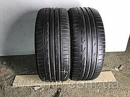 Шины бу лето 225/40R19 Bridgestone Potenza Soo1 RFT 2шт 6мм