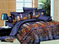 Комплект постельного белья ТМ KRIS-POL (Украина) Бязь голд Полуторный