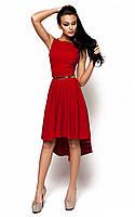 (S, M) Жіноче червоне коктейльне плаття Astrid