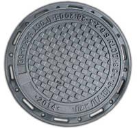 """Люк чавунний каналізаційний легкий типу """"ПЛ"""" А15 (ПР)"""