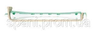Sibel Коклюшки длинные бело-зеленые 80 х 6 мм., 12 шт.
