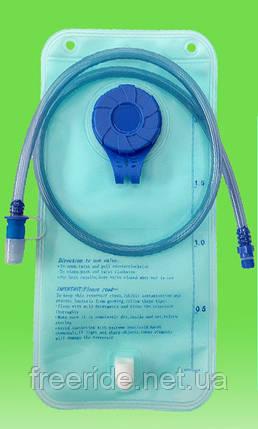 Питьевая система, голубой гидратор 2 л (PEVA), фото 2