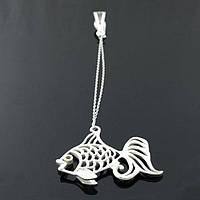Серебряный ионизатор воды Рыбка, фото 1
