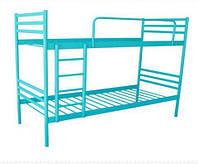 Кровать двухъярусная металлическая трубка