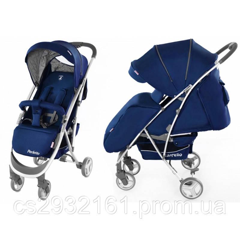 АКЦИЯ Детская Коляска  прогулочная CARRELO Perfetto синяя