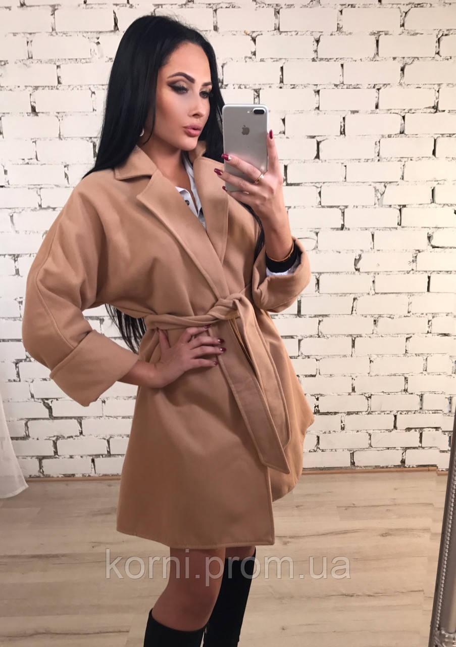 dc4a6a47f6e Пальто женское кашемир беж - Интернет-магазин одежды и обуви