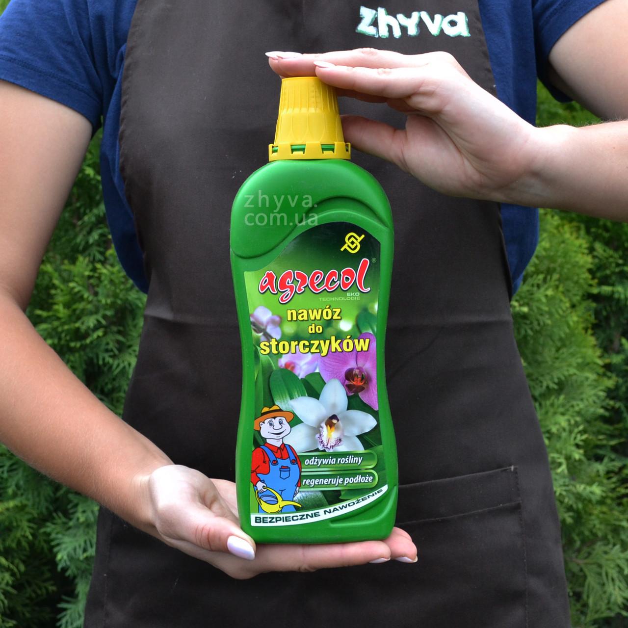 Добриво Agrecol для орхідей органічно-мінеральне 750мл
