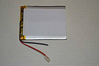 Универсальный аккумулятор (АКБ, батарея) 3.7V 2200mAh (4.0*55*67mm)