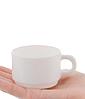 Чашка кофейная Luminarc Empilable White 90 мл H7793