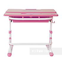 Растущая парта для девочки FunDesk Lavoro L Pink, фото 2