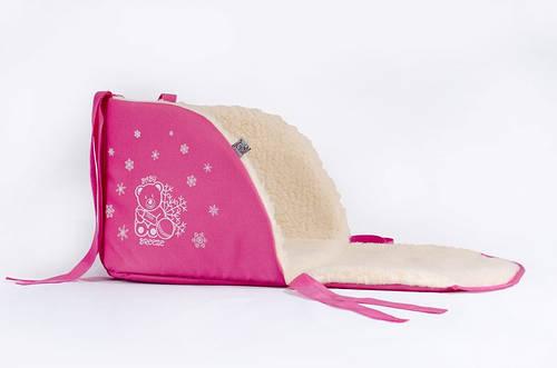 Матрасик для санок Baby Breeze 0301 (малина)