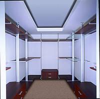 Алюминиевая гардеробная система, фото 1