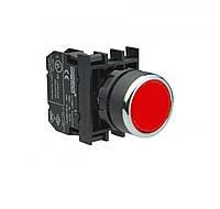 B200DK Кнопка нажимная круглая (1НЗ) красная