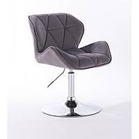 Кресло  HR 111 графитовый велюр, фото 1