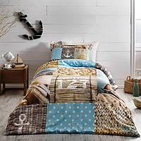 Комплект постельного белья Tivolyo Home полуторный Sailor, фото 1