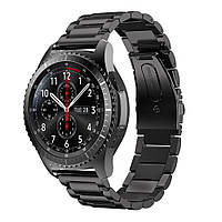 Металлический ремешок для часов Samsung Gear S3 Classic SM-R770/Frontier RM-760 - Black
